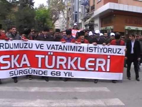 Sürgünde 68 Yıl Yürüyüşü/Eskişehir