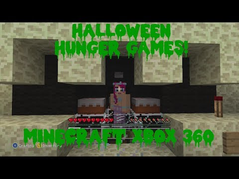 Minecraft Xbox 360 Halloween Hunger Games! Lag Lag Lag...FAIL!!