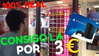 100% REAL CONSIGO LA PLAYSTATION 4 POR 3€ 100% REAL / GANANDO EN STACKER !!!