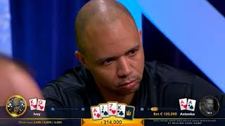Highlights - €1 Million Cash Game with Phil Ivey, Tom Dwan and Dan