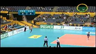 Peru vs Rusia - Mundial de Voley 2010 Set I 1/3 HD