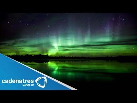 Impresionantes imágenes de una Aurora boreal en Islandia (Video)