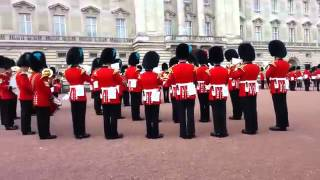 Game of Thrones theme song played by the Queen s guards