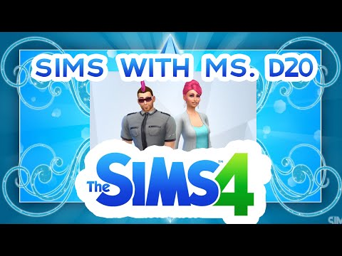 The Sims 4 with Ms. D20- Making Friends (Episode 2)