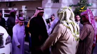 سعيد العويران لاعب نادي الشباب في برنامج جاب العيد