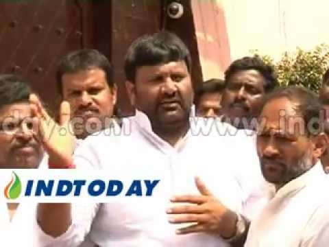 Qutubullapur MLA Kuna Srisailam joins Jagan Mohan Reddy in jail