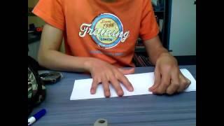 tuto comment faire un avion en papier