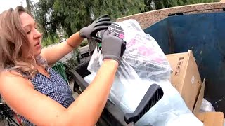 DUMPSTER DIVING- YOU SHOULD TRY IT!