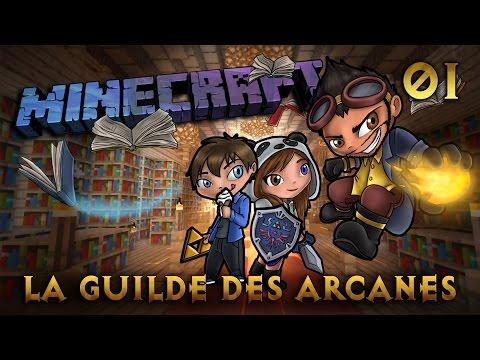 Minecraft - Rosgrim - La Guilde des Arcanes - Ep 1 - Les trois Sorciers
