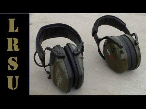 SportEar M4 vs Howard Leight Sport Muffs Product Review