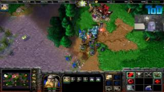 Warcraft III #141 - Bizzare Human vs Orc (Echo Isle)