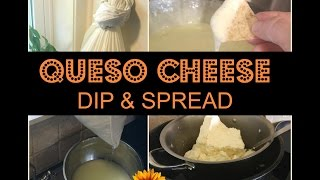 MAKE QUESO CHEESE SPREAD &  DIP