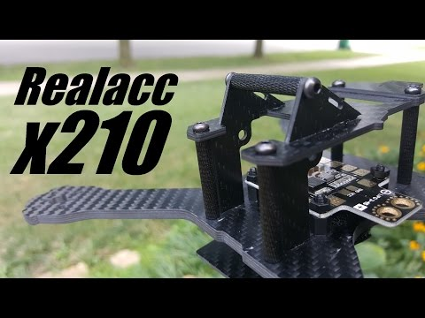 Realacc x210 (QAV-X Clone) Frame Review from Banggood