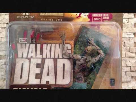 MCFARLANE TOYS THE WALKING DEAD SERIES 2: BICYCLE GIRL ZOMBIE