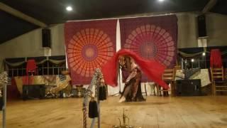 "Kaitlyn Bellydance Veil Improv to ""Romeo y Julieta"" by Armen Kusikian"