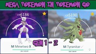 All Mega Pokemon In Pokemon Go Gen 1 & 2
