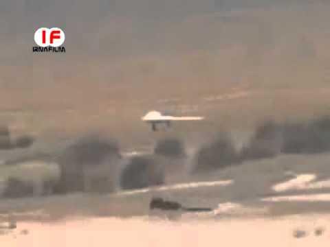 Посадка пиндосского безпилотника в Иране