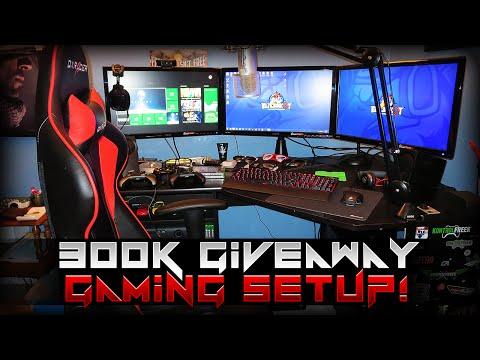 300k KontrolFreek Giveaway & Gaming Setup! [Links In Description]