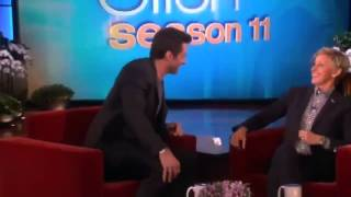 Hugh Jackman and Ellen on Hosting the Oscars on The Ellen DeGeneres Show 2013