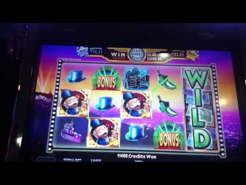 Super Monopoly Money Cool Nights Wheel Spin Jackpot Coushatta