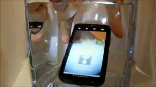 MOTOROLA DEFY XT535 water crash test music 2012 Android 2.3 HD Подводный тест)))