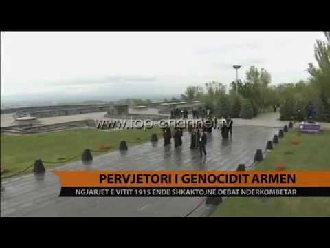 Përvjetori i gjenocidit armen - Top Channel Albania - News - Lajme