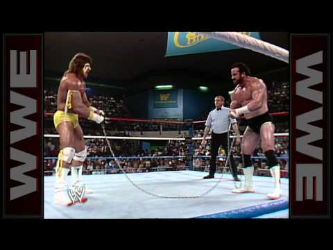 The Ultimate Warrior vs. Hercules - Chain Match