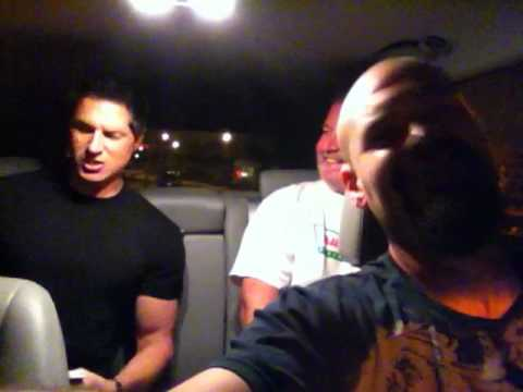 Zak Bagans Smiling Aarons twitter vlog: hold on