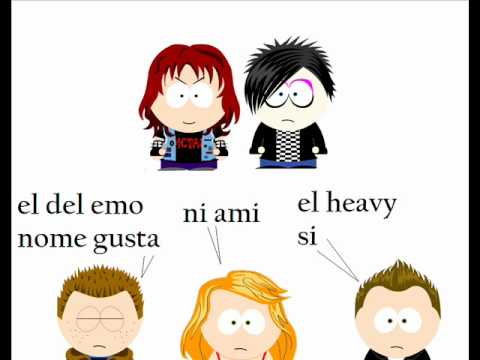 metal vs emo An emo cuts themselves, a goth is a person who just dresses dark, and a metalhead is a person who listens to hard metal rock how come people have isues with emo's or goths.