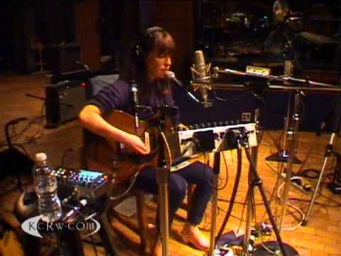 "Feist performing ""The Circle Married The Line"" on KCRW"