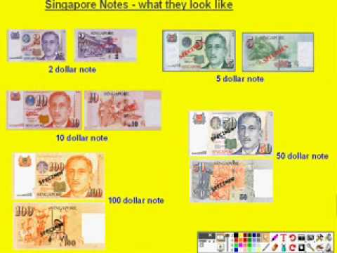 Singapore Money Coins Singapore Coins And Notes