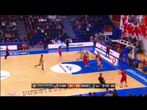 Highlights: CSKA Moscow-Budivelnik Kiev