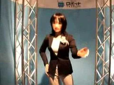 Sexy Robot Speaks - Sexy Robots Videos video