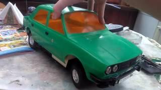 Škoda 120 Ls Old rc car repair