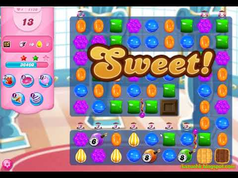 Candy Crush Saga Level 4150 (3 stars, No boosters)