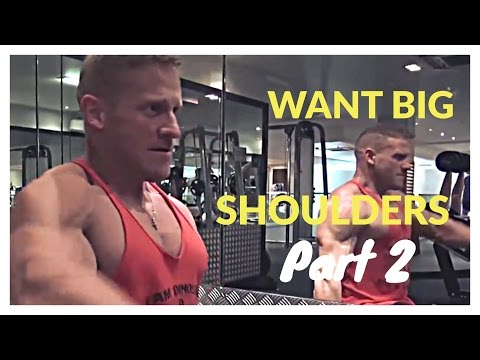 Build BOULDER SHOULDERS with Mitch Gosling (Shrugs & Seated Dumbbell Upright Rows) Image 1