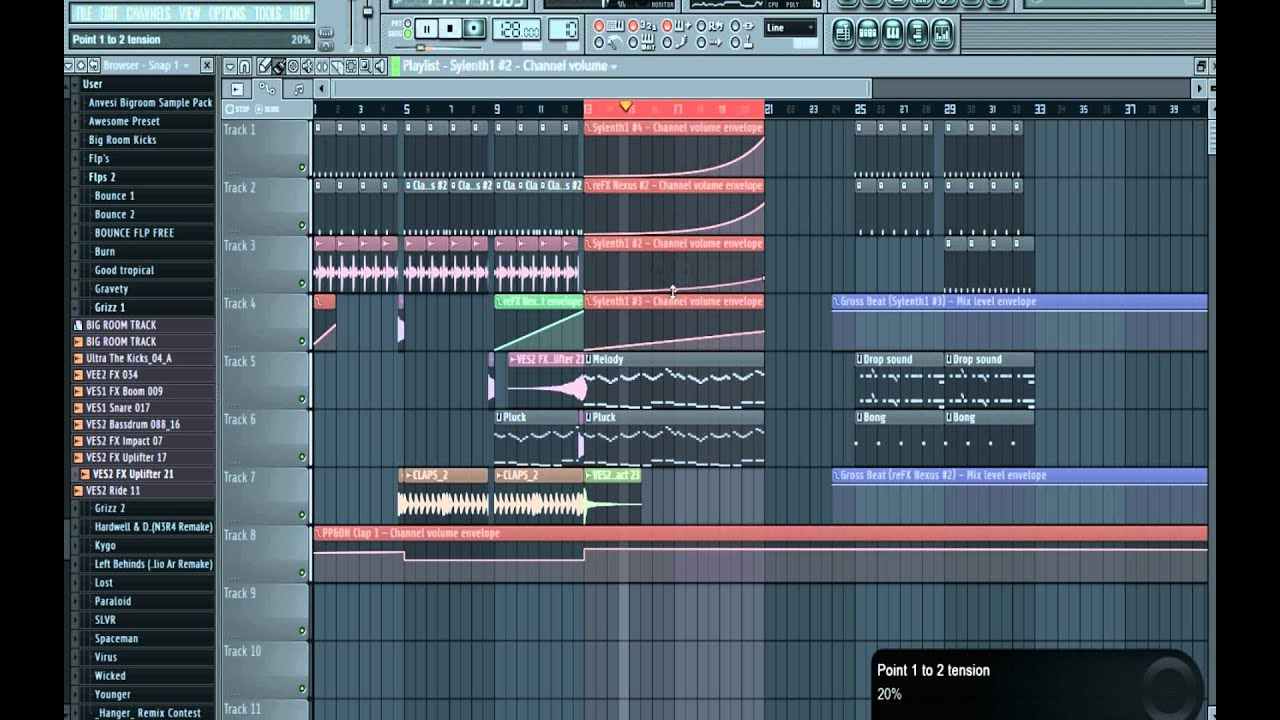 Как сделать барабанную дробь в fl studio