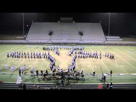 Black and Silver Brigade - Houston County High School - Heart of Georgia 102613
