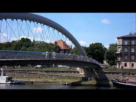 Kładka Bernatka W Krakowie (Most Miłości)