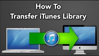 how to create itunes library on external hard drive