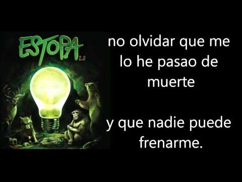 Estopa - Indecision O No Letra Lyrics