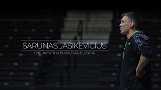 One Day With a Euroleague Legend: Sarunas Jasikevicius' documentary