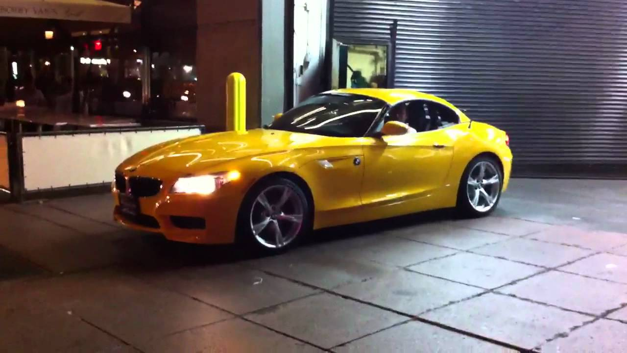 Citrus Pkg Atacama Yellow Bmw Z4 Nyc Youtube