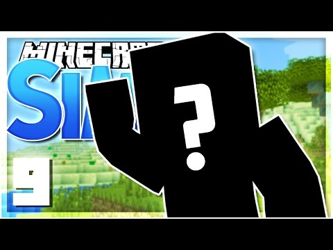 A NEW MEMBER?   EP 9   SimsCraft (Minecraft Youtuber Server)