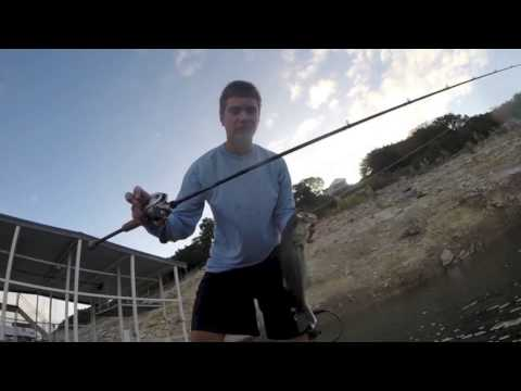 Fall bass fishing lake travis youtube for Lake travis fishing report