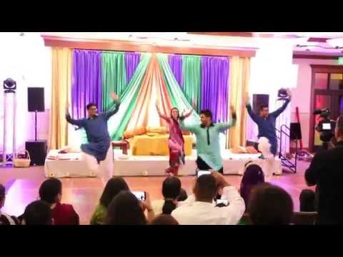 Osman and Maleehas Mehndi - The Mirza Family Dance
