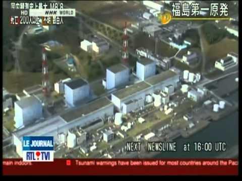 Explosion à La Centrale Nucléaire De Fukushima ( Au Japon ) video