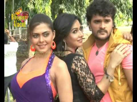 Song Shoot Of Bhojpuri Film 'khoon Bhari Maang'  1 video