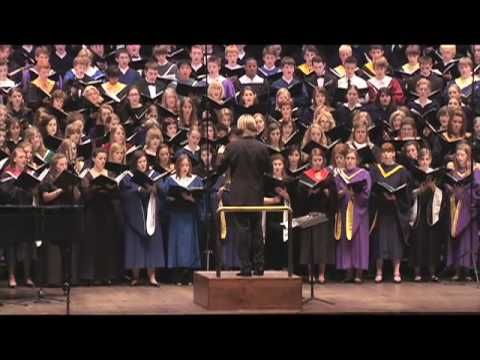 Eric Whitacre conducts Cloudburst