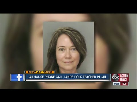 Teacher's phone call leads to arrest
